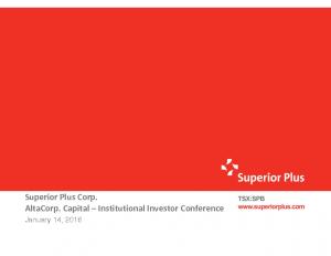 AltaCorp. Conference January 14, 2016 (528KB – PDF)
