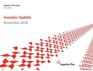 November Investor Update November 13, 2018 (3.0MB – PDF)