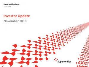 November Investor Update November 26, 2018 (2.11MB – PDF)