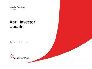 April Investor Update April 10, 2019 (1.96MB – PDF)