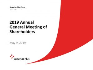 2019 Annual General Meeting of Shareholders May 9, 2019 (1.66MB – PDF)