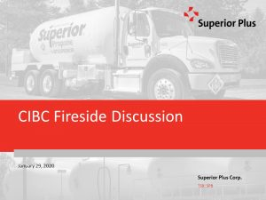 CIBC Fireside Discussion January 29, 2020 (0.9MB – PDF)